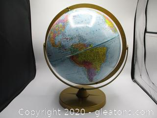 """Replogle World Nation Series 12"""" Globe with Stand"""