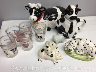 Cow and Pig Lot