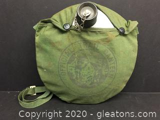 Vintage Official Trail Canteen