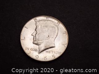 1965 United States Half Dollar