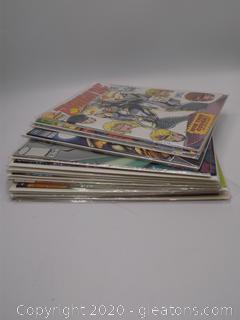 Comic Book Lot D