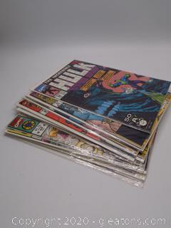 Comic Book Lot E