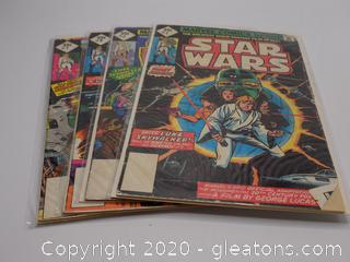 5 Marvel Comics Group Star Wars Comic Books Lot A