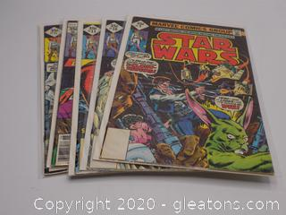 5 Marvel Comics Group Star Wars Comic Books Lot B