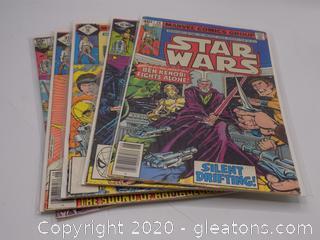 6 Marvel Comics Group Star Wars Comic Books Lot C