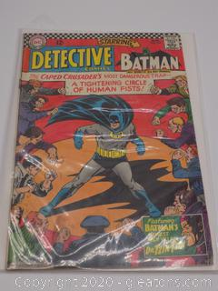 "Detective Comics ""Batmans Newest  Arch-Villian – Dr. Tzin Tzin"""