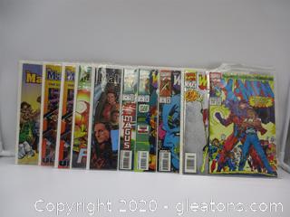 Marvel Comics Warlock Chronicles and 5