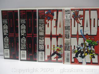 4 Marvel Comics Dead Pool