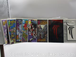 12 Image Comics Books Various Series