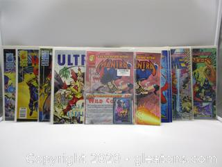 11 Malibu Comics Books Ultraverse Comic Books