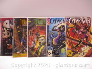 DC and DC Vertigo Comic Books Lot of 5