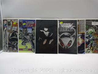 7 Image Shadow Hawks Comic Books