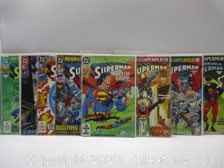 DC Comic Superman Collection Set of 8