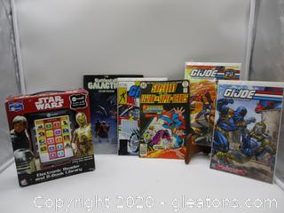 Starwars Me Reader with Comic Books
