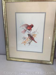 Vintage Bird Original by Paul Whitney Hunter SIGNED