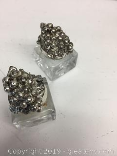 Arthur Court Pewter Grape Collection Salt and Pepper Set DISCONTINUED