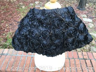Beautiful reversal formal wrap