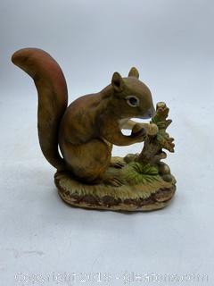 Hand Painted Lefton China Squiri