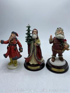 History of Santa Clause Miniature Collectors Pieces By: Duncan Royale