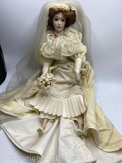 Lenox Victorian Bride Doll