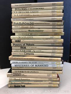 Vintage National Geographic Society Books Lot A