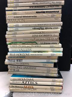Vintage National Geographic Society Books Lot B
