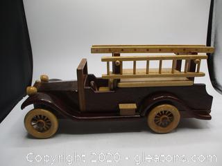 Rolls Royce Fire Truck Walnut, Padauk, Curly Maple
