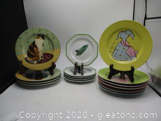 Mixed Lot Of Sakuva and Williams and Sanoma Dinnerware
