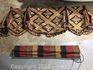 Custom Made Window Dressings