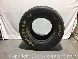 Good year # 1 Dale Earnhart Racing Tire