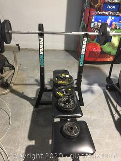 Exercise Weigh Bench by Power 800