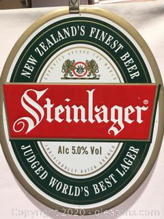 Stein Lager Metal Sign