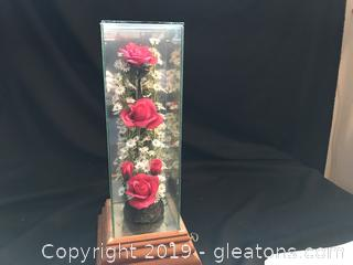 Red rose music box