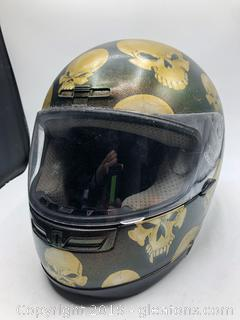 Motorcycle Helmet by Nell