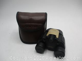 Vintage Pentax 10x UCF G Binoculars with Case