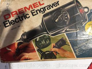 Electric Engraver by Dremel