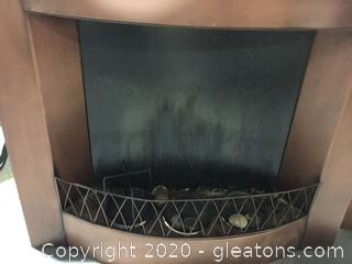 Outdoor Candle 2pc Fireplace