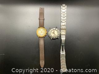 Men's Wrist Watches Titan and Luminox