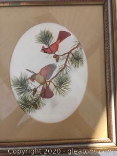 Cardinal Pair Art