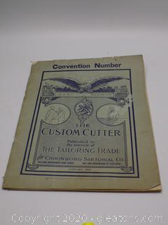 The Custom Cutter January, 1910 Magazine