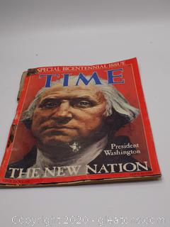 "Special Bicentennial Issue Time ""The New Nation"""