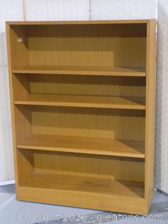 Golden Oak Bookcase