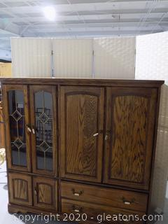 TV Armoire with Storage
