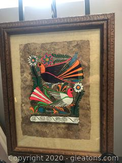 Beautiful Madalla Original Framed Art