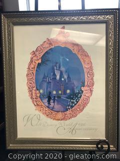 Framed Wall Art by Walt Disney