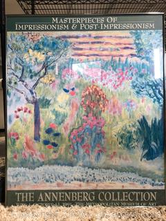 From the Annenberg Collection 'Impressions' Water Color Wall Art