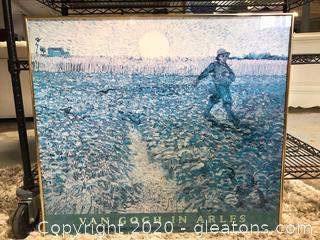 Framed Print of Van Gogh in Arles