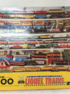 Lionel Trains and Harley Davidson Lot