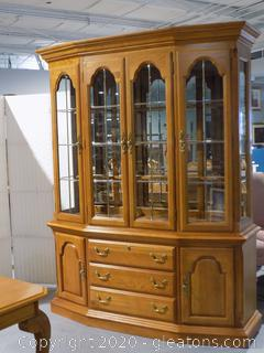 Large 2 Piece China Cabinet by Sumter Furniture