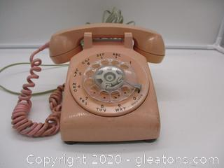 Vintage Rotary Dial Bell System Phone